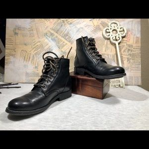 Frye Tyler Lace-up Combat Boot